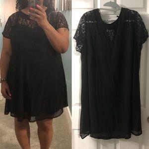 New Black Lace top dress